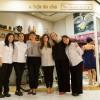 Vivianne Wakuda, Telma Shiraishi, Nathalia Leter, Marcia Garbin, Carla Saueressig e Sonia Yamane organizam o primeiro shinnenkai da Loja do Chá