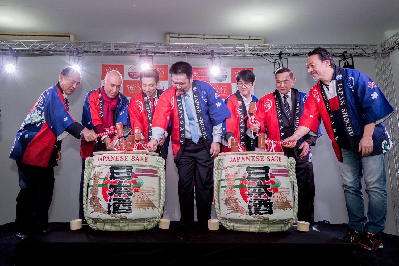 Cerimônia de abertura do evento