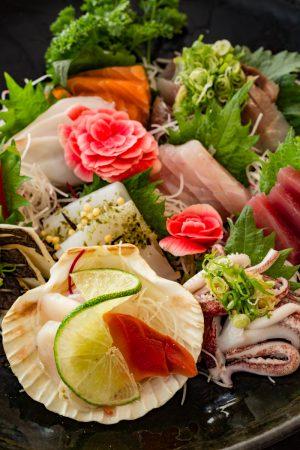 sashimi moriawase Ban