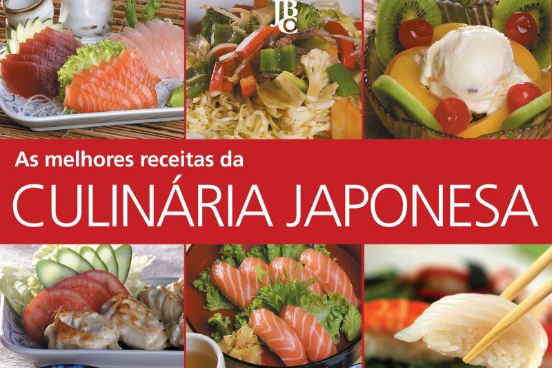 Livro As Melhores Receitas da Culinária Japonesa
