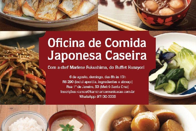 Oficina de Comida Japonesa Caseira