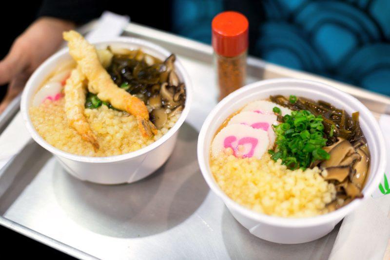 Produtos importados e comidas únicas para o Festival do Japão