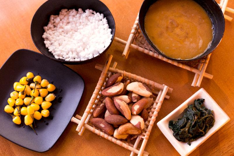 ingredientes amazônicos usados na cozinha japonesa