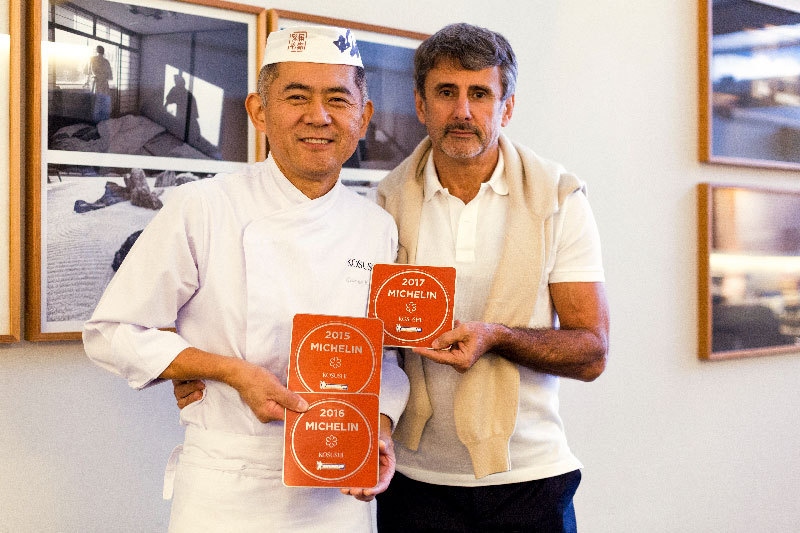chef George Koshoji