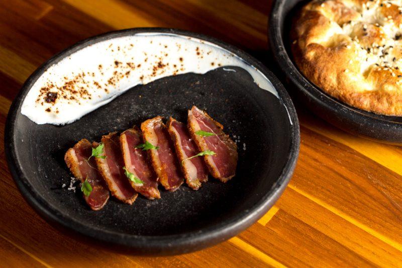 Culinária turca com sake