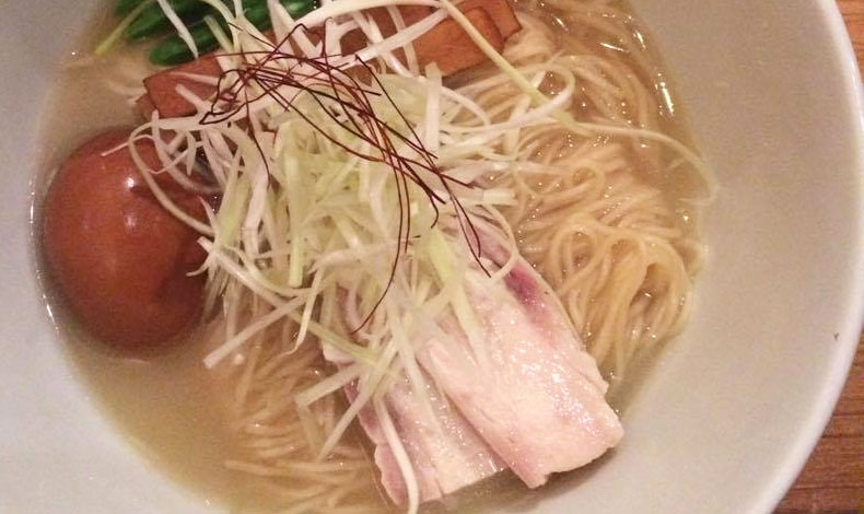 Shio ramen do Tan Tan Noodle Bar