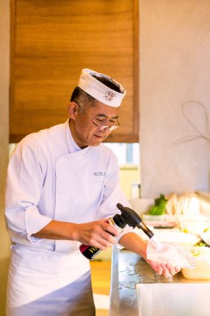 chef koshoji george