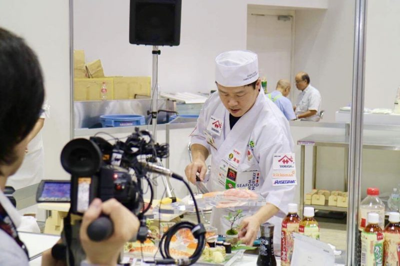Fábio Catsuqui no World Sushi Cup
