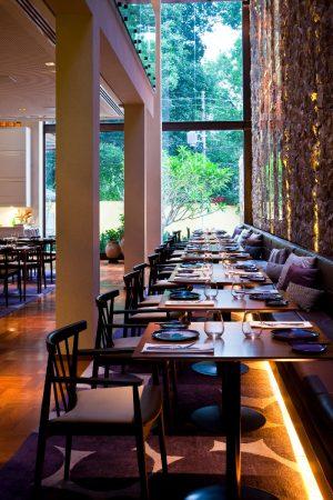 Restaurante Clos, eleito um dos cinco mais bonitos restaurantes da cidade pela revista Época