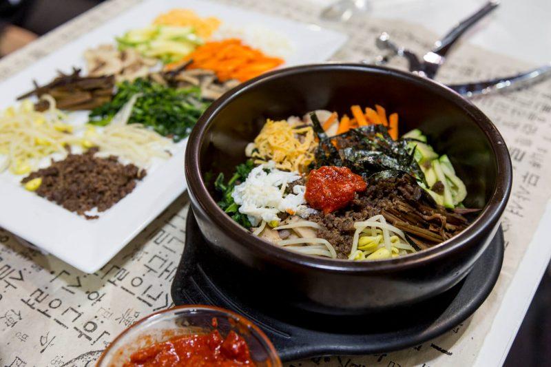 Dolsot bibimbap do Portal da Coreia
