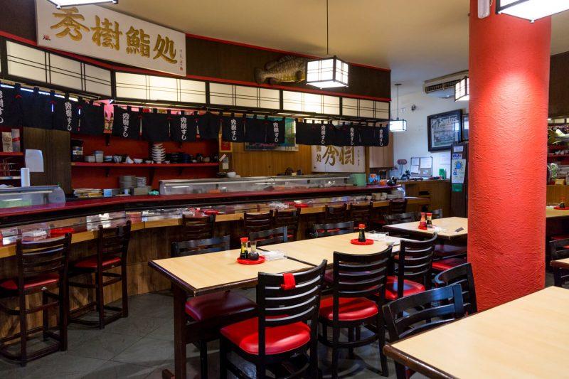 Salão do restaurante Hideki
