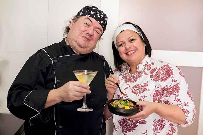Lucio e Helena Manosso