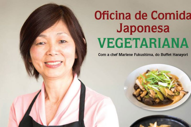Oficina de comida japonesa vegetariana