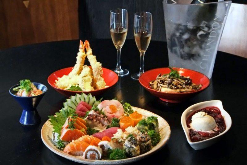 Restaurante japonês para o Dia dos Namorados