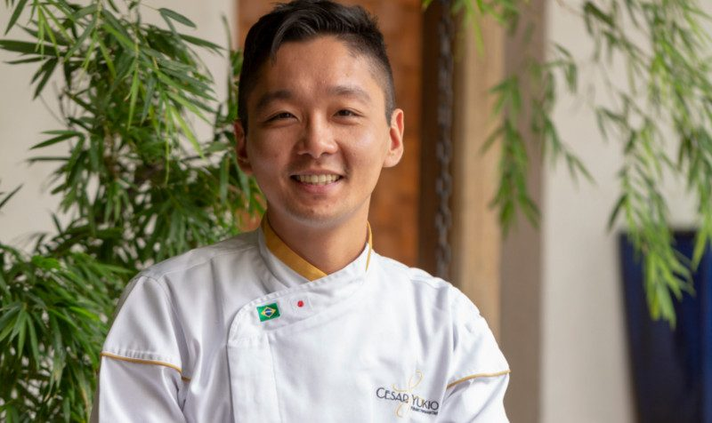 Perfil do Chef pâtissier: Cesar Yukio