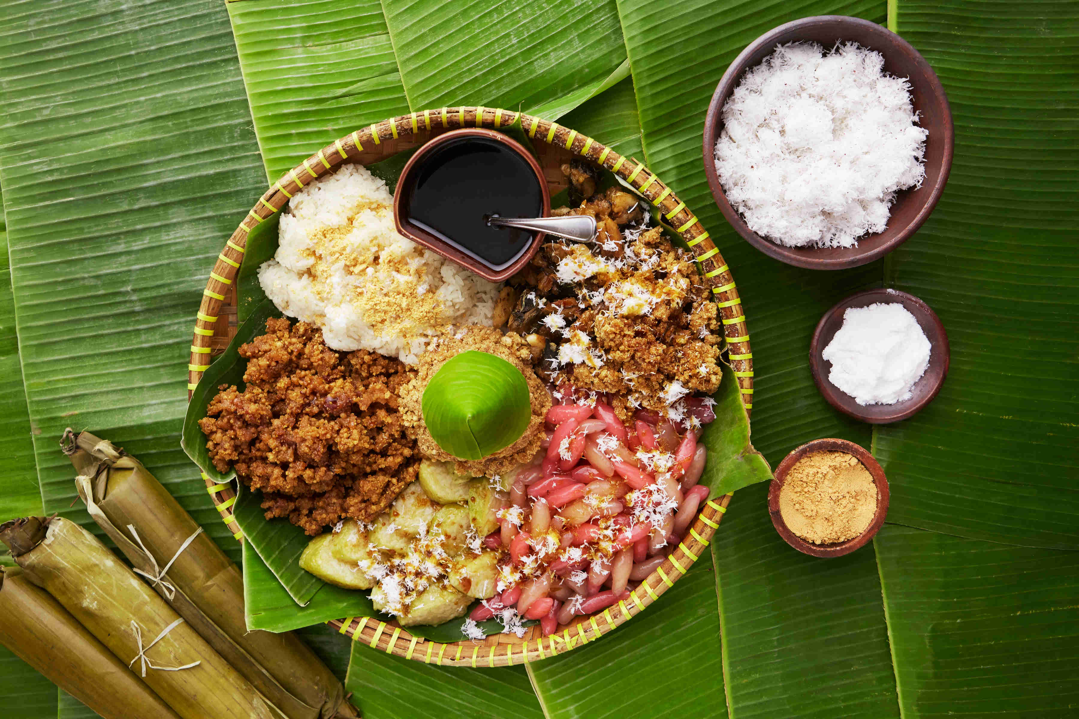 Jajan Pasar, prato típico da Indonésia