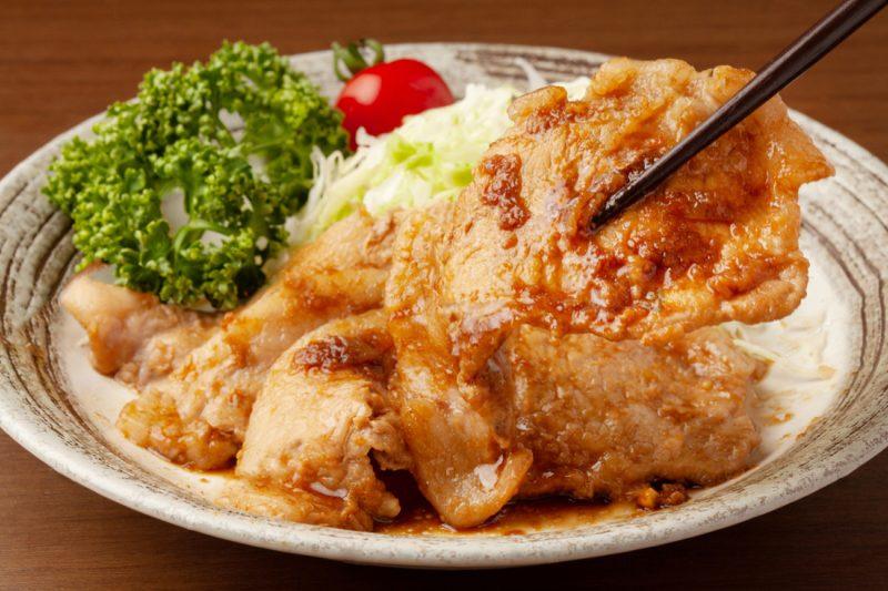 comida japonesa caseira shogayaki