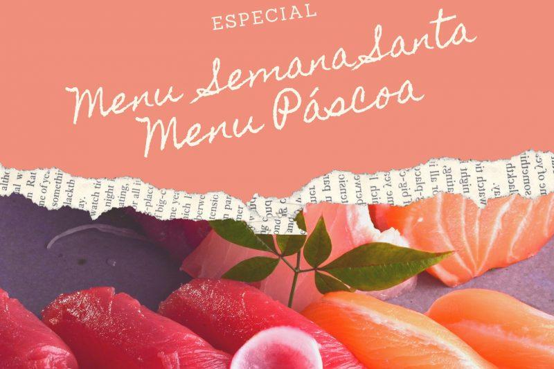 Restaurante Kinoshita lança o Menu Semana Santa e Pacote Especial da Páscoa