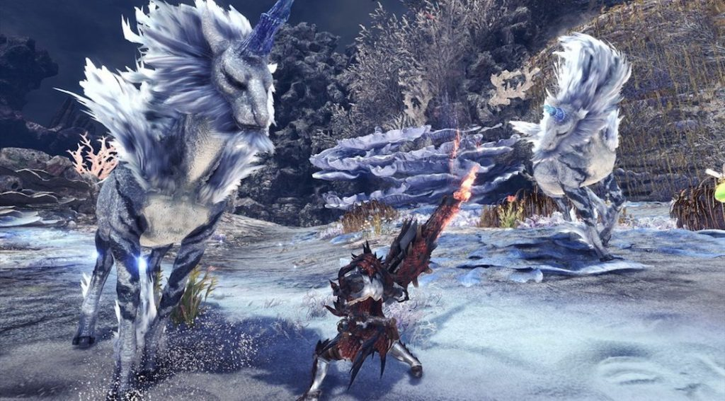 Kirin no game Monster Hunter
