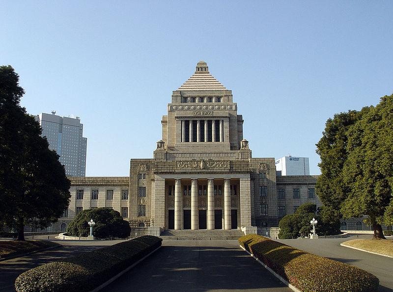 O prédio do Parlamento Japonês fica aberto para visitação pública de segunda a sexta