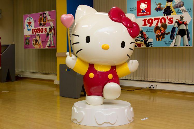 Hello Kitty, é apelida de Kitty-chan pelos fãs da personagem