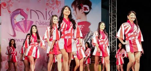 Desfile Miss Nikkey Brasil 2014