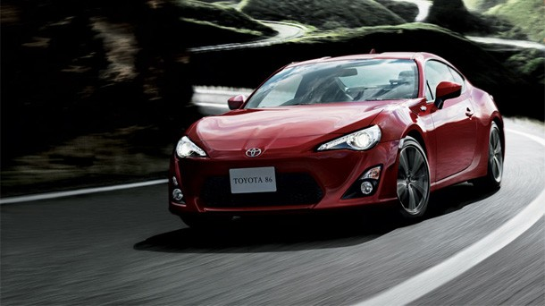 Novo modelo do Toyota GT86