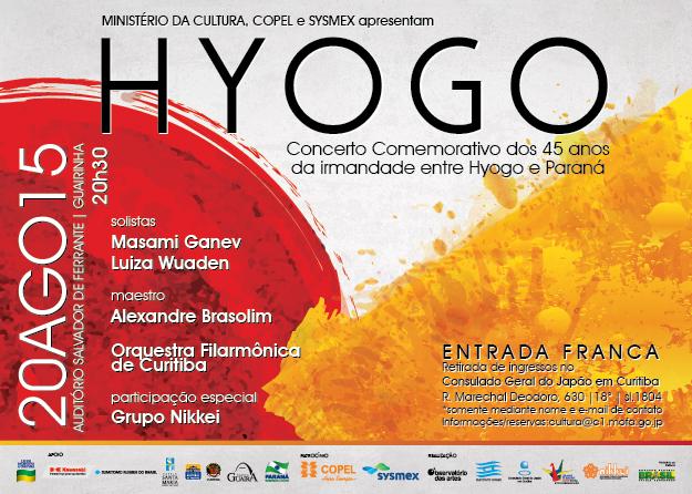 HYOGO - Concerto 45 anos Hyogo e Paraná