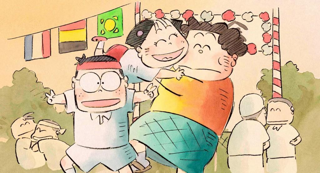 (Hôhokekyo tonari no Yamada-kun) de Isao Takahata. Com Touru Masuoka, Yukiji Asaoka, Hayato Isobata, Naomi Uno. Japão, 1999. 104min, digital.