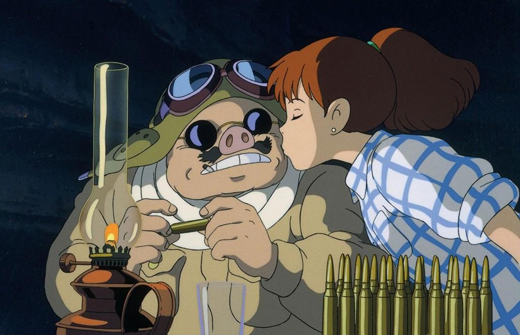 (Kurenai no buta) de Hayao Miyazaki. Com Shûichirô Moriyama, Tokiko Katô, Sanshi Katsura. Japão, 1992. 94min, digital.