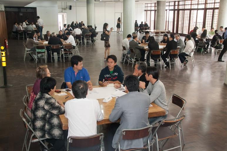 Representantes de entidades nikkeis e jovens se reuniram no 6º FIB – Fórum de Integração Bunkyo Foto - Gabriel Inamine/Piccolo&Inamine