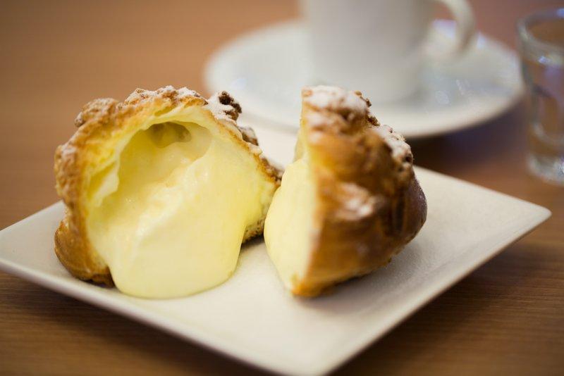 Choux Cream, da chef Vivianne Wakuda. Foto: Rafael Salvador