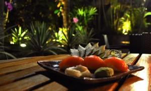 Sushi Nights promove um cardápio de comida japonesa no Narã Bar & Lounge dentro do hotel