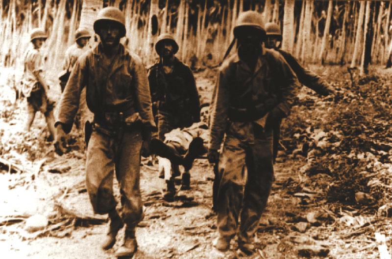 Nos 239 dias de combate, o maior número de brasileiros feridos foi na região de Bombiana
