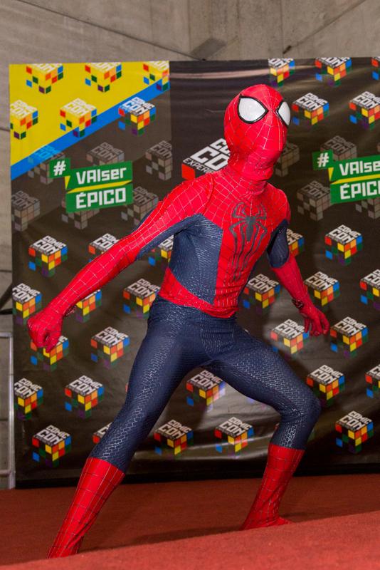 Matheus Gaspar ganhou o prêmio Cosplay Destaque, o cosplay revelação, interpretando o Homem-Aranha trazido diretamente do filme O Espetacular Homem-Aranha 2