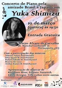 Concerto de piano com Yuka Shimizu