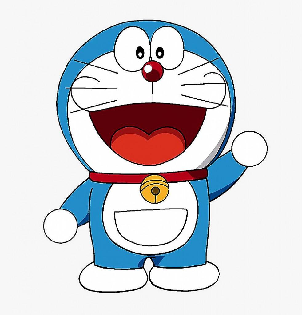 Doraemon é o gato-robô