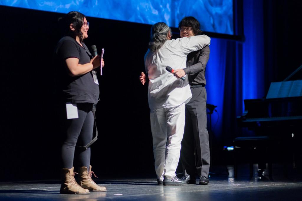 Parceria: Uematsu e Nakayama trocam elogios no palco