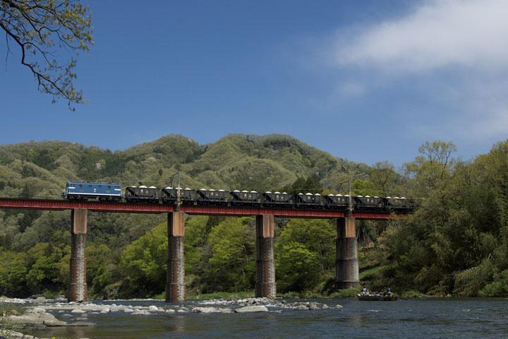 Ponte Oyahana sobre o rio Arakawa