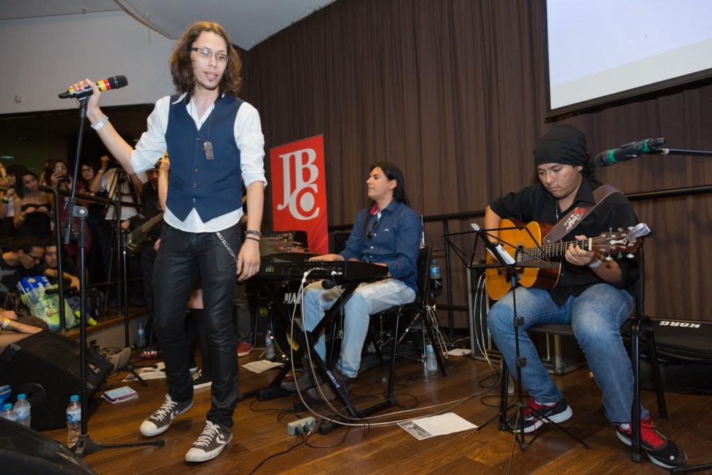 Participação da banda Senpai Old School no JBC Henshin+ 2016