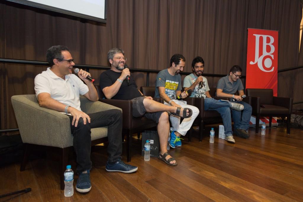 Painel sobre o concurso BMA (Brazil Manga Awards) e o mercado de quadrinhos nacionais