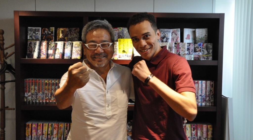 Na viagem ao Japão, Ichirou conheceu o CEO da Coamix Corp, Nobuhiko Horie.