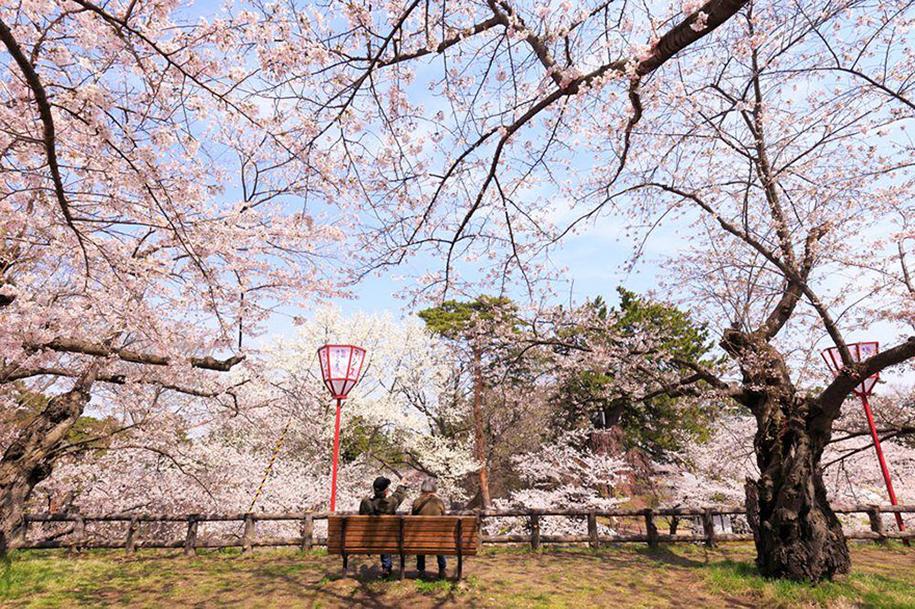 Foto de Joe Makita, em Hirosaki, Aomori