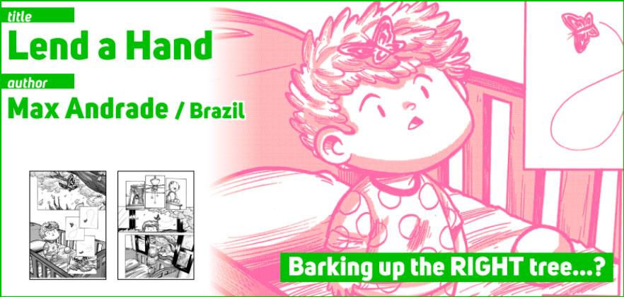 Lend a Hand, por Max Andrade. Clique para acessa a obra completa.