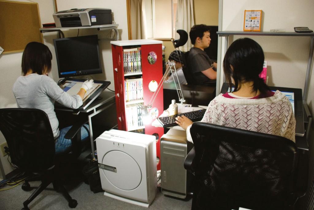 Um paraíso otaku: mangás, bonecos miniatura e computadores de última geração