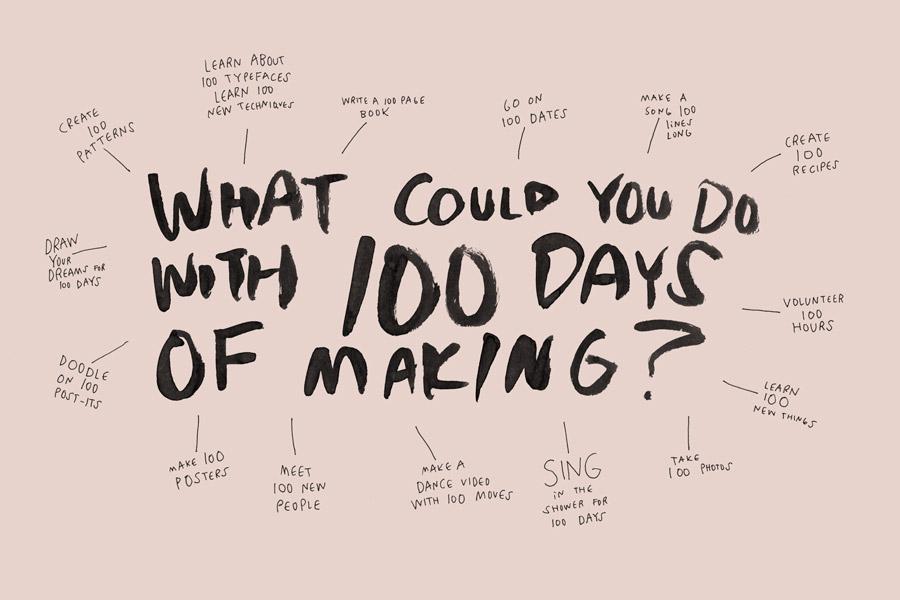 O que você poderia fazer em 100 dias de produção?