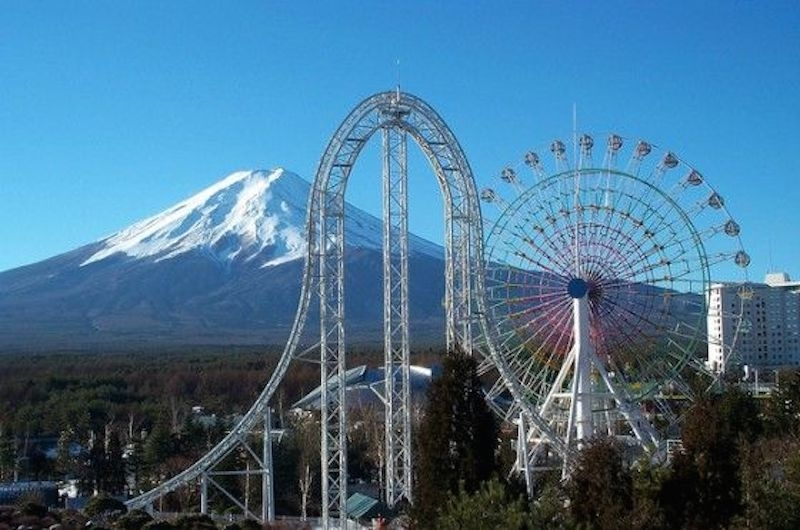 Resultado de imagem para Parque Fuji Q Highland