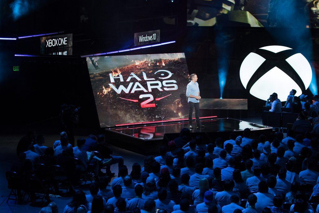 Conferência da Microsoft durante a E3 2016