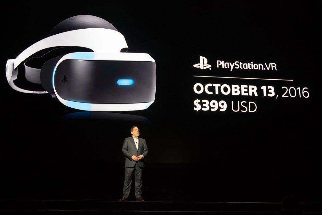 PlayStation VR deve ser lançado em outubro de 2016