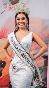 Ana Carolina Miyashita é a Miss Niklkey 2016